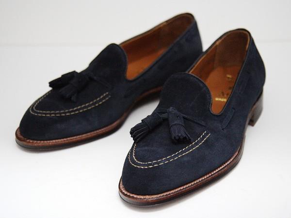 Today's Favorites - Alden Blue Suede Tassel Loafers