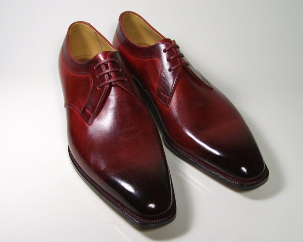 Burgundy Shoes - Where The Hell Are They??