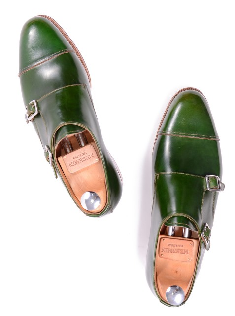 Meermin's Green Cordovan Monks