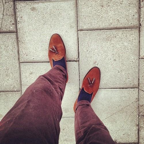 Shoes Look Best When On Feet!