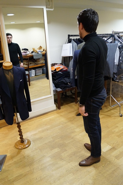 G&G Bespoke Round 2 - The Trial Fit