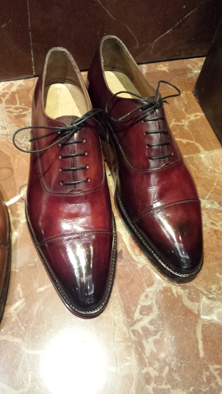 The Go-To London Shoe Shiner
