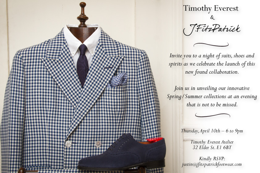 J.FitzPatrick Launch Event at Timothy Everest