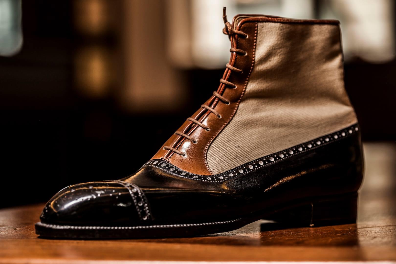 Dimitri Gomez Bespoke Balmoral Boot