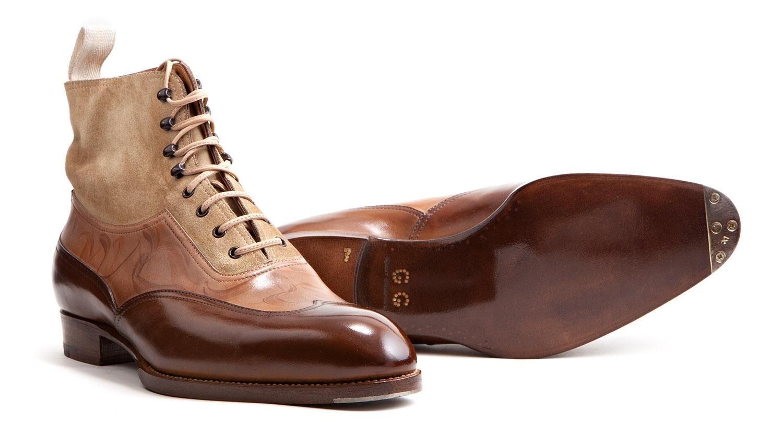 Tri-Color Boots by Saint Crispins