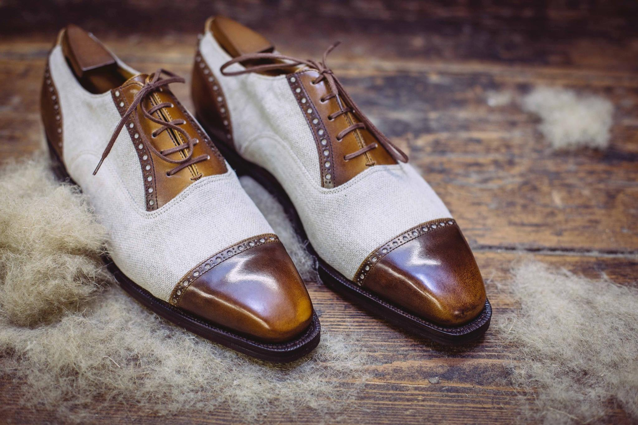 Corthay Canvas Shoes for S/S2015