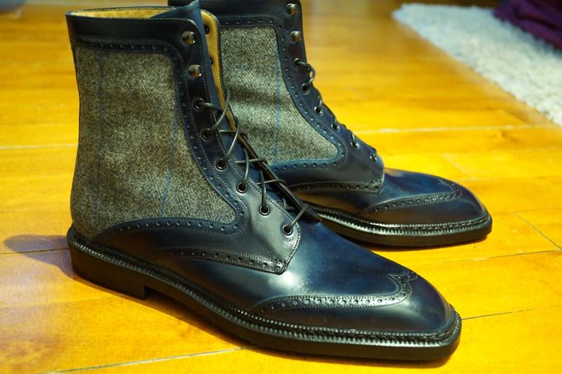 Bespoke Gaziano & Girling Boots - FINISHED!