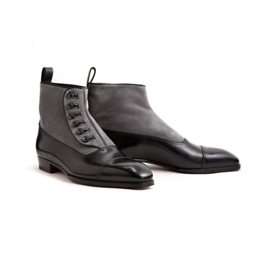 Button Boots at Leffot