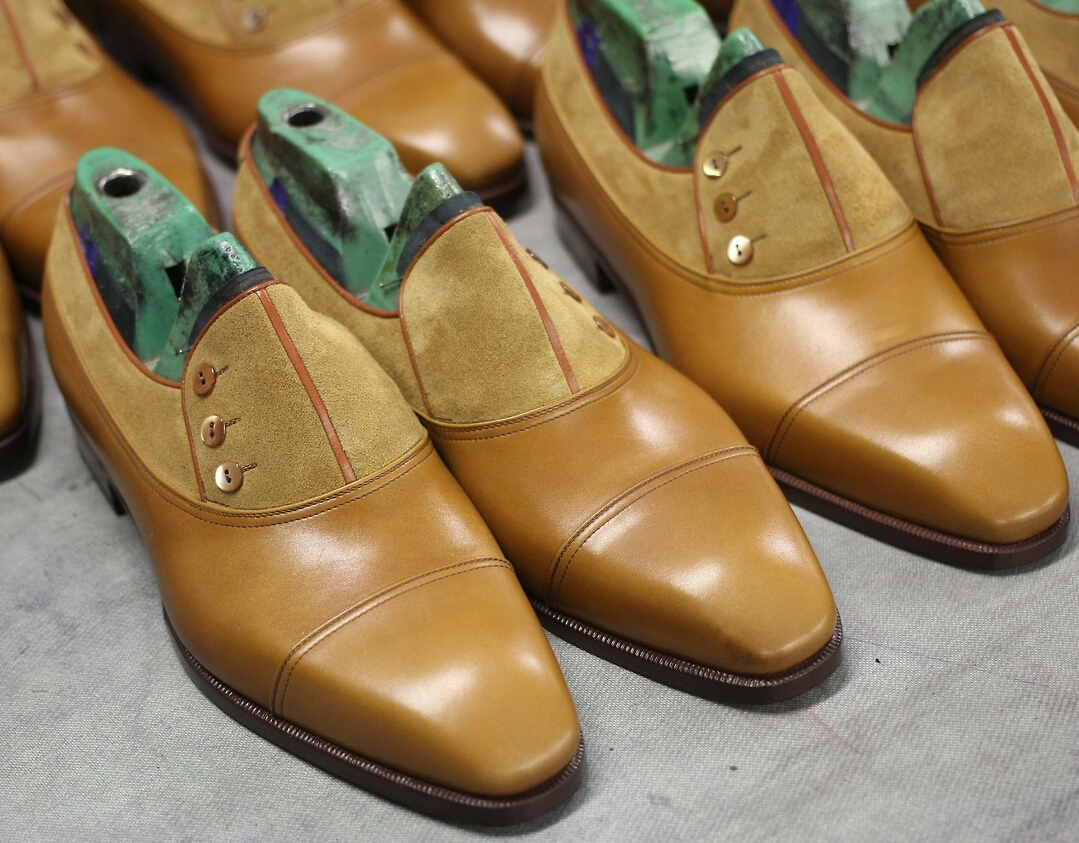 Button Shoes by Aubercy