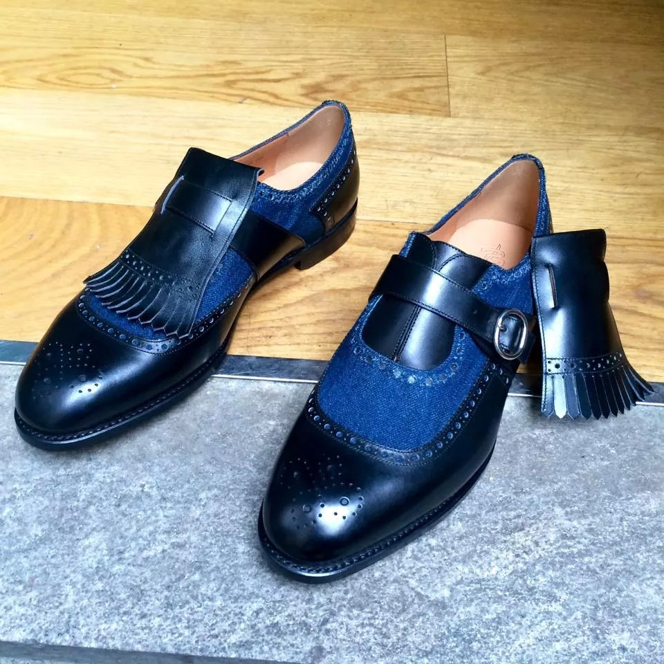 More Denim in Shoes - This time by Barbanera!
