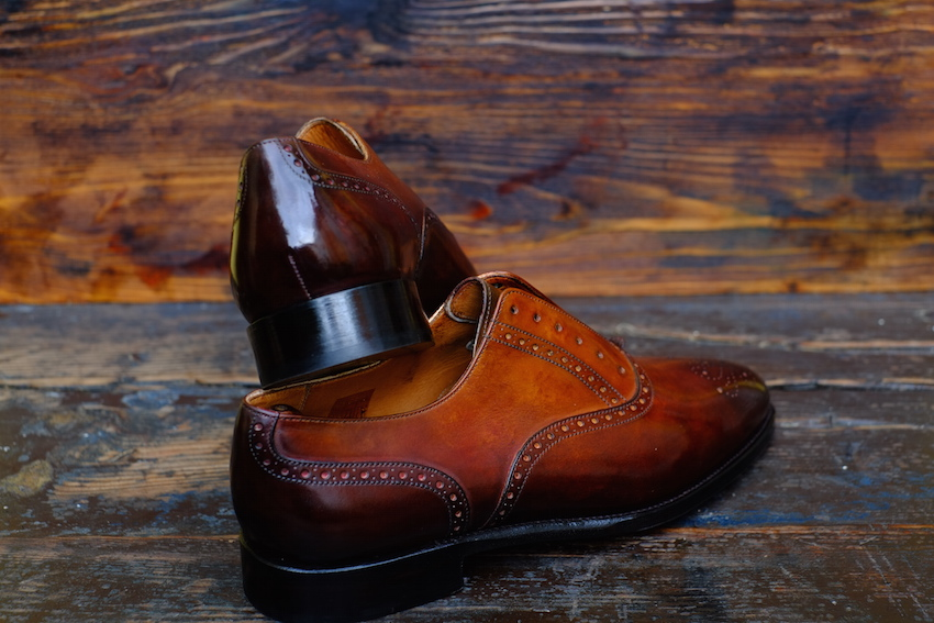 First Round of Patinas Done by J.FitzPatrick x Dandy Shoe Care