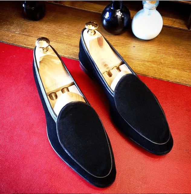 Allan Baudoin Belgian Style Loafers
