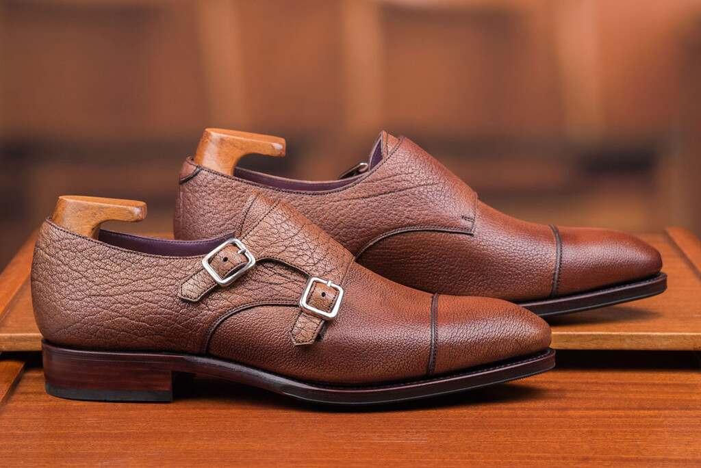 Buffalo Leather by Carmina for Skoaktiebolaget