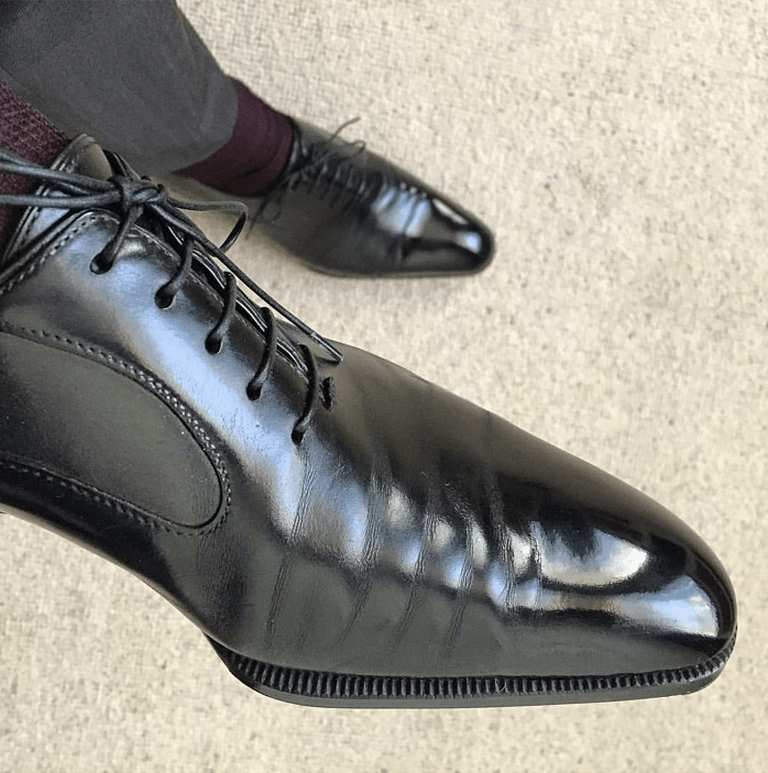 Remember: Leather Creases....Plain and Simple