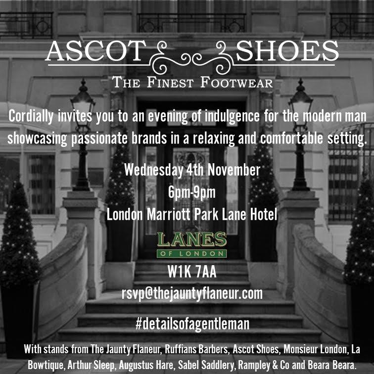 Laszlo Vass Trunk Show London - Nov. 4th