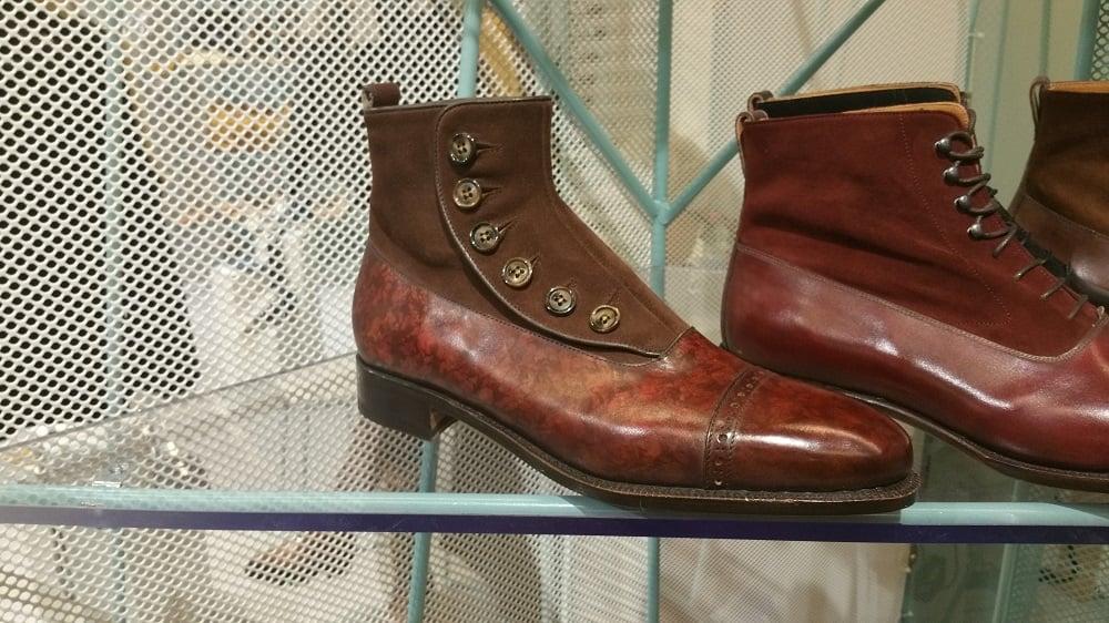Bettanin & Venturi Hand Welted Button Boots