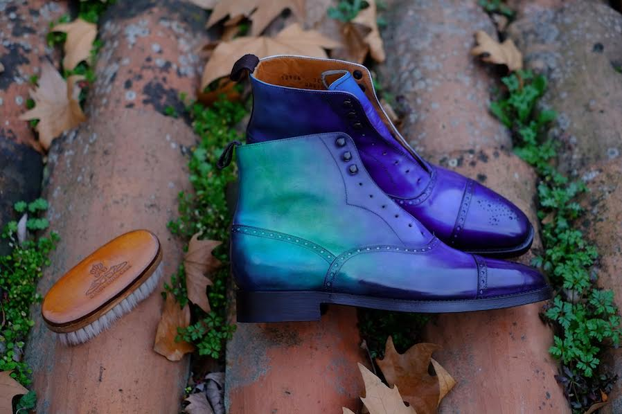 """First Round of Dandy Shoe Care x J.FitzPatrick """"David"""" Boot"""