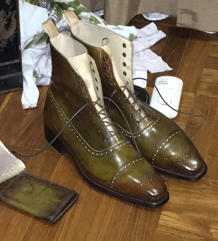 Do It Yourself Shoe Dyeing