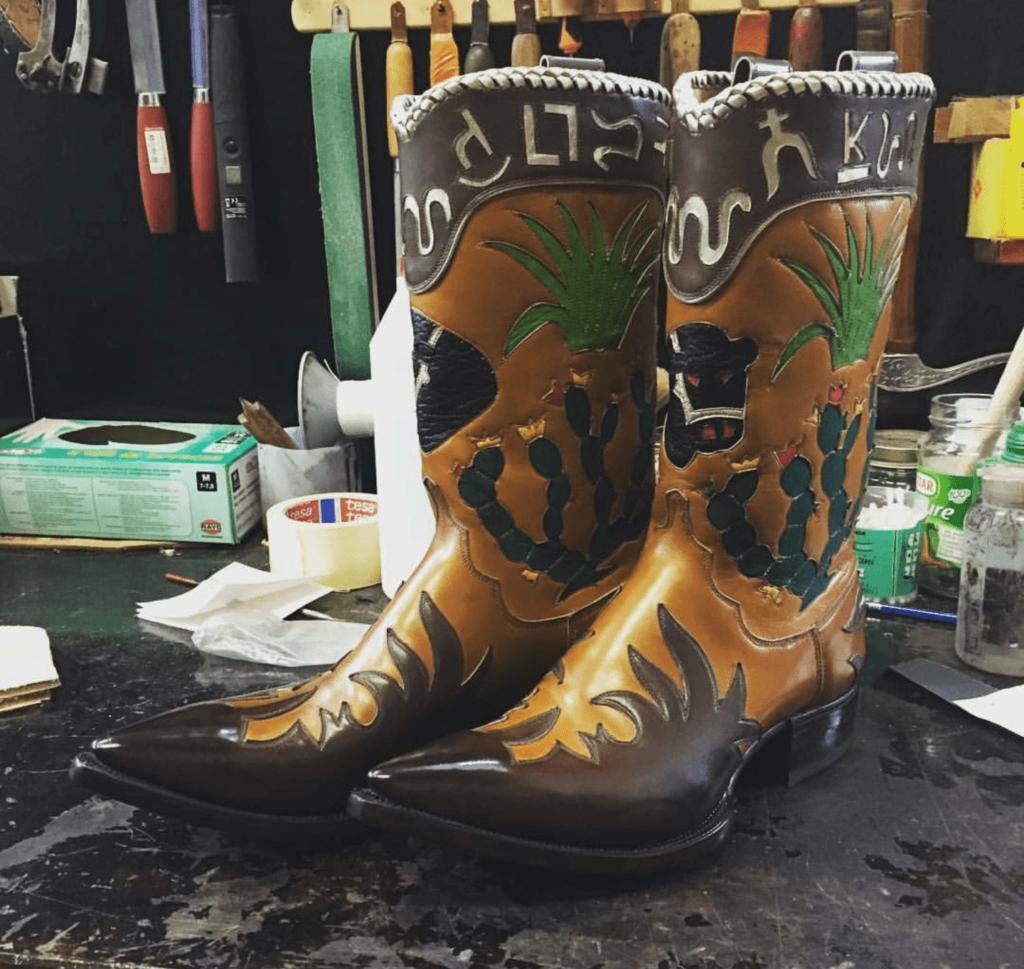 Riccardo Bestetti Cowboy Boots