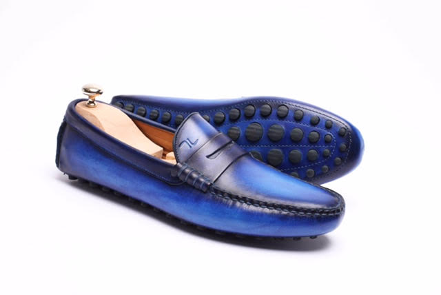 Septieme Largeur Patina Driving Loafers