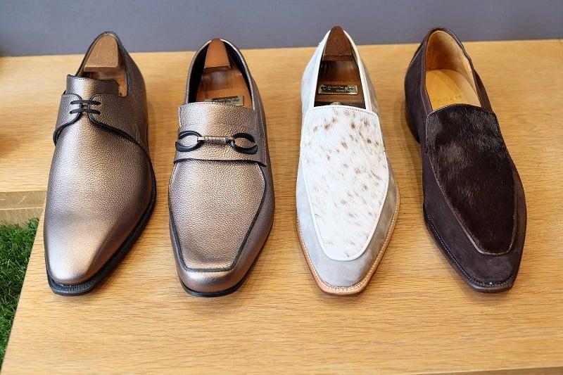 Corthay Shop Visit S/S2017 - Motcombe St. London
