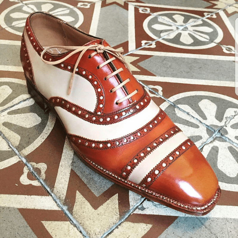 Norman Vilalta Launches Gladiator Brogue for RTW/MTO at Pitti 92