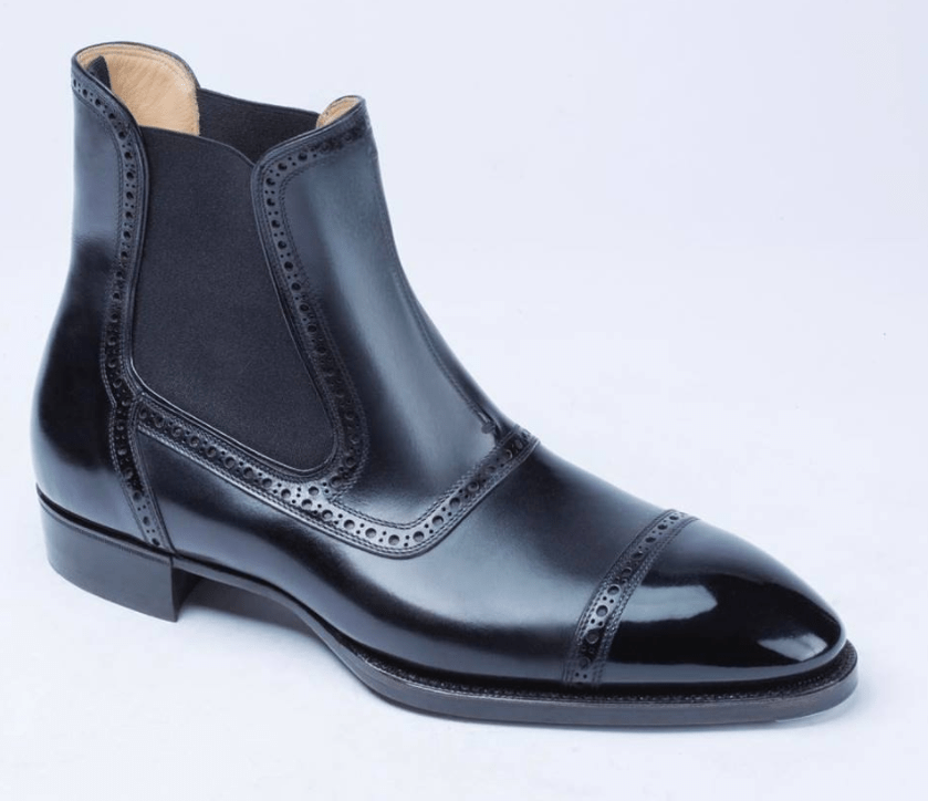 Something Different - A Chelsea With Brogueing by Riccardo Bestetti