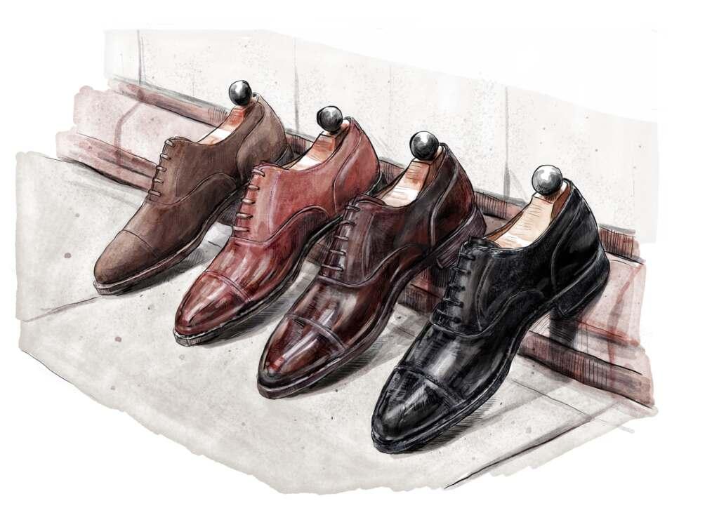 Shoe Art by Jon Leigh