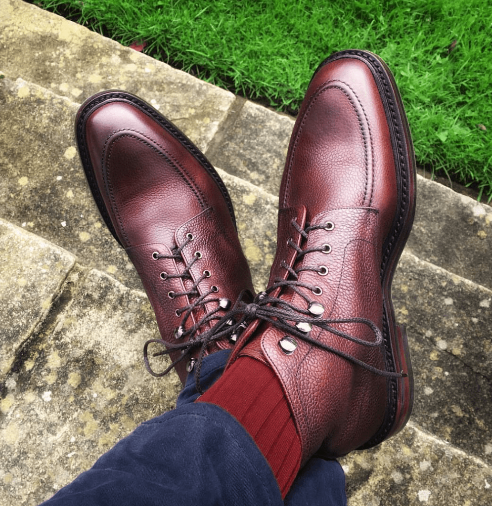 A Proper Winter Boot by Loake