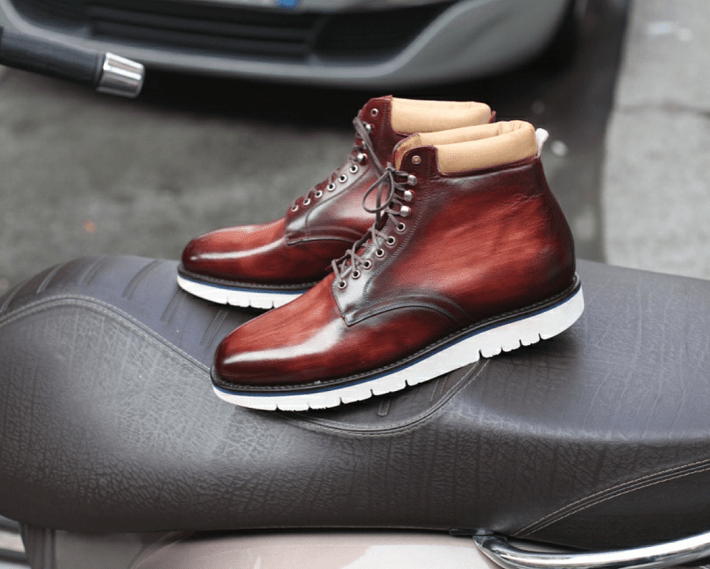 Septieme Largeur New Patina Boots