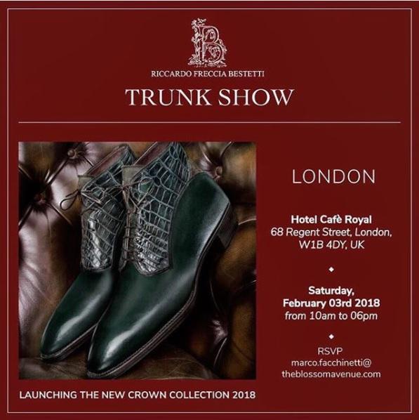 Riccardo Bestetti - Crown Collection Launch - Paris & London!