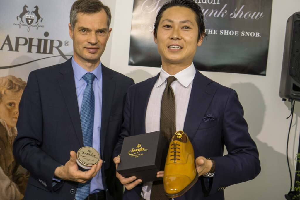 London Super Trunk Show - World Championship Shoe Shining Qualification