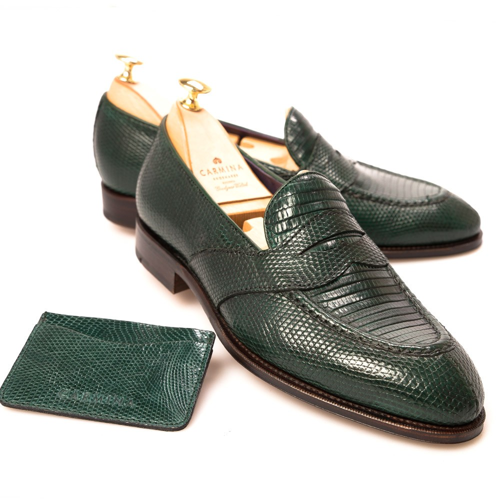 Carmina's Exotic Leather Loafers
