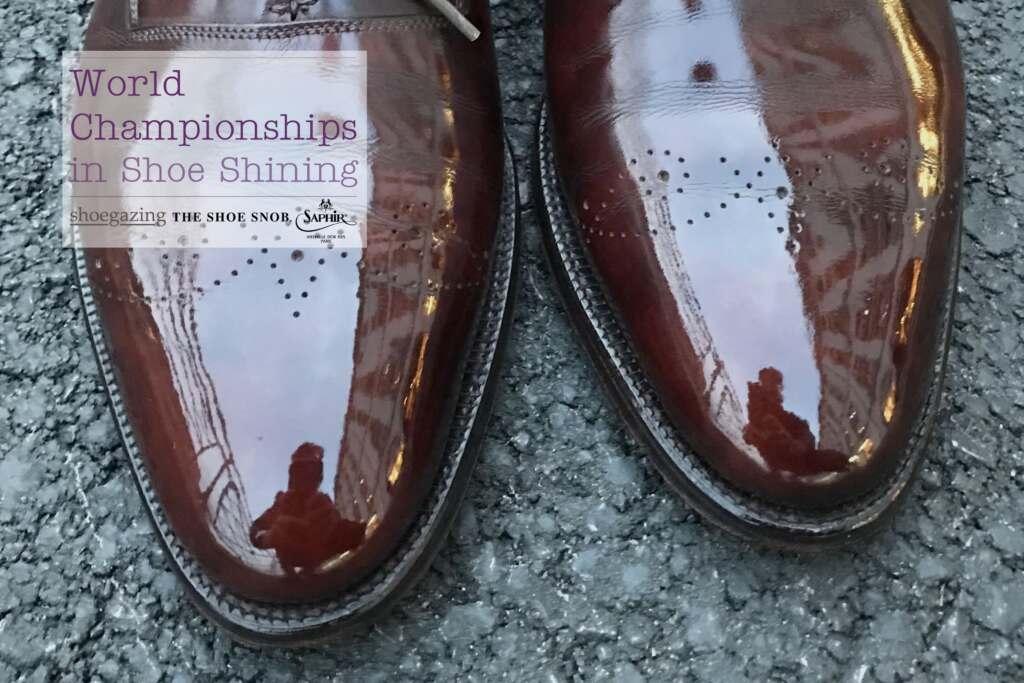 London Super Trunk Show 2018 - Shoe Shining Qualifiers