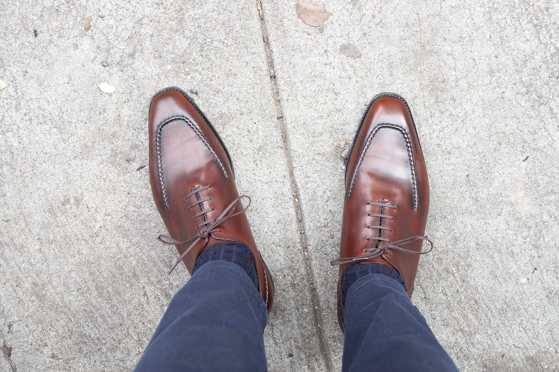 Discover The Whittier Wholecut Apron Oxford - J.FitzPatrick Footwear
