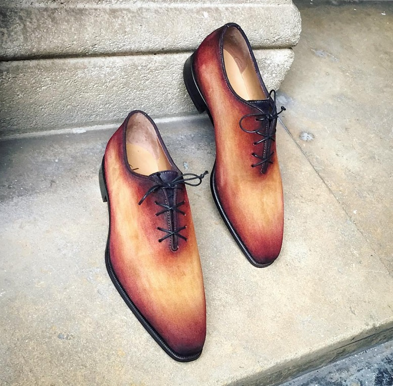 Suede with Patina by Altan Bottier