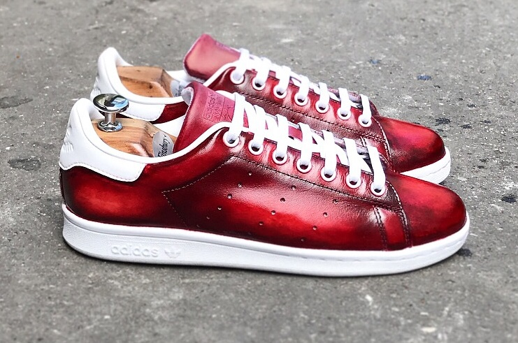 Adidas 'Stan Smith' - Patina Style! --- Les Cireurs Parisiens