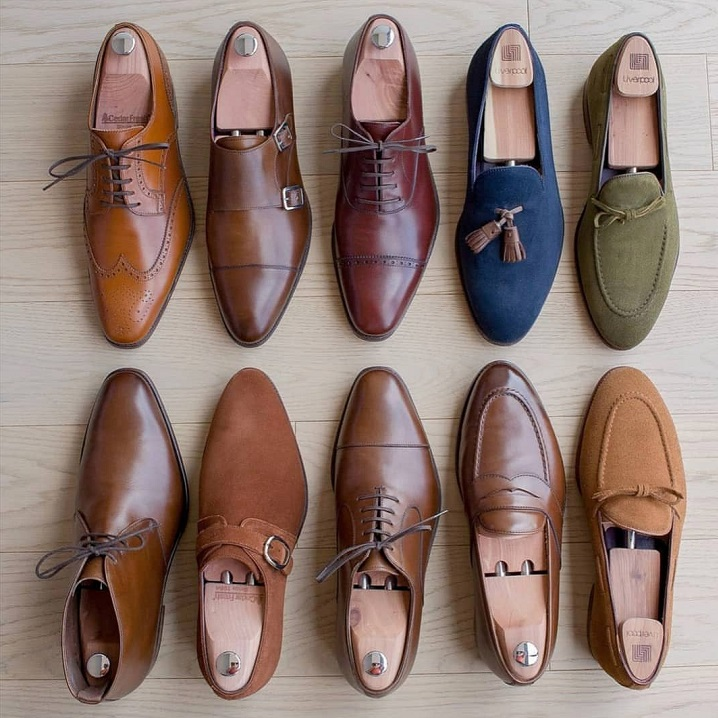 A Solid Line Up - A Personal Collection of Carmina Shoes