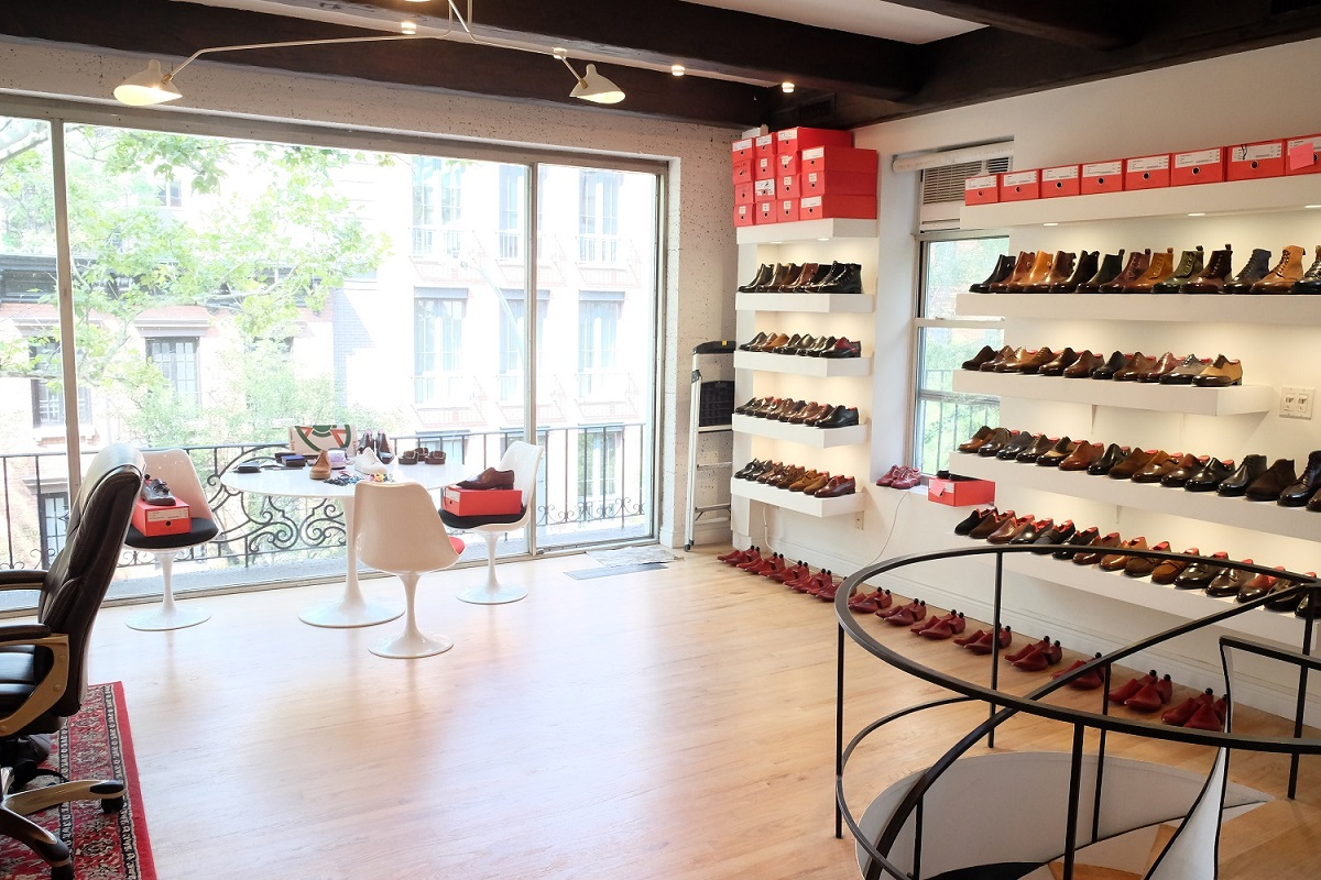 The Shoe Snob / J.FitzPatrick Footwear - NYC Showroom in the Making