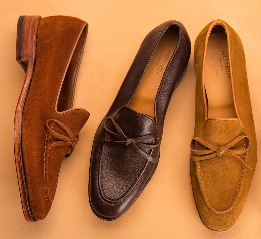 Deconstructed Summer Loafers by Meermin