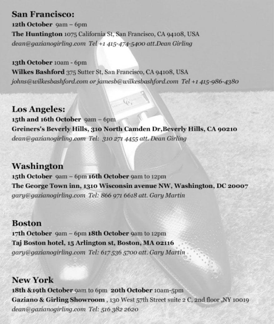 Gaziano & Girling - US Tour