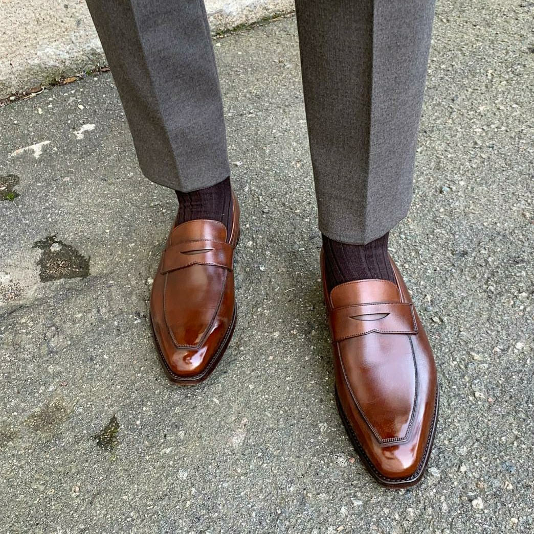 Penny Loafers - Classic Round Toe or Modern Elongated Toe?