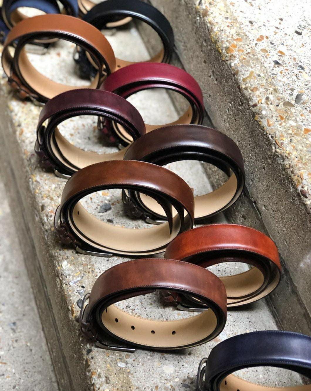 Museum Calf Belts