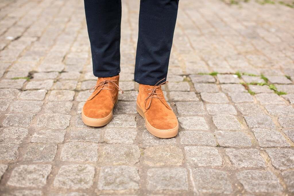 Anacortes Chukka Sneaker by J.FitzPatrick Footwear at 30% Off