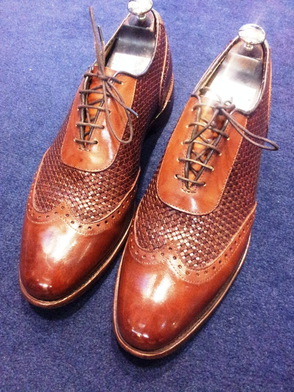 The Braided Shoe by Allen Edmonds