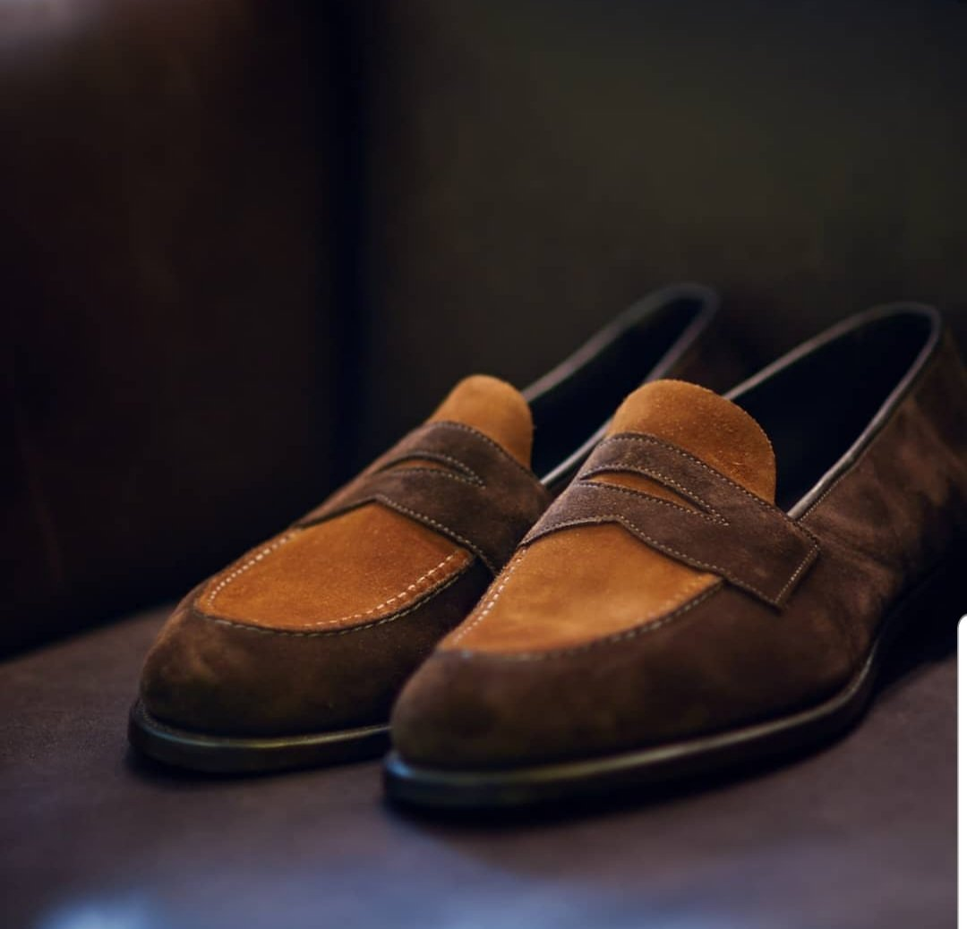 The Two Tone Penny Loafer