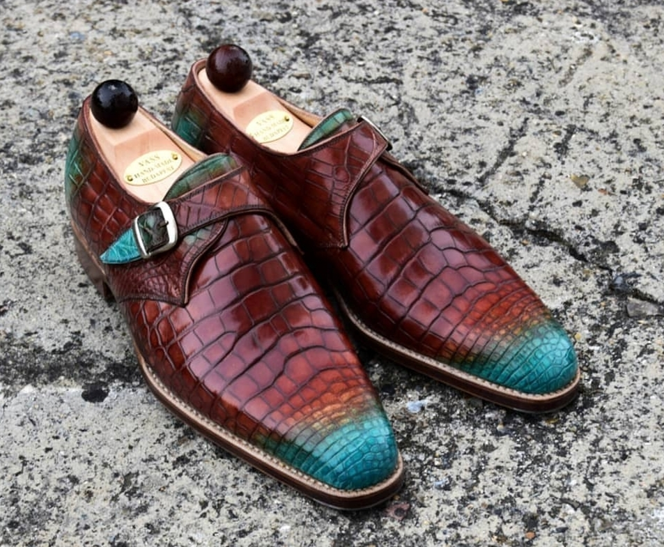 Fit for a Prince! - Vass Alligator Monks with Patina