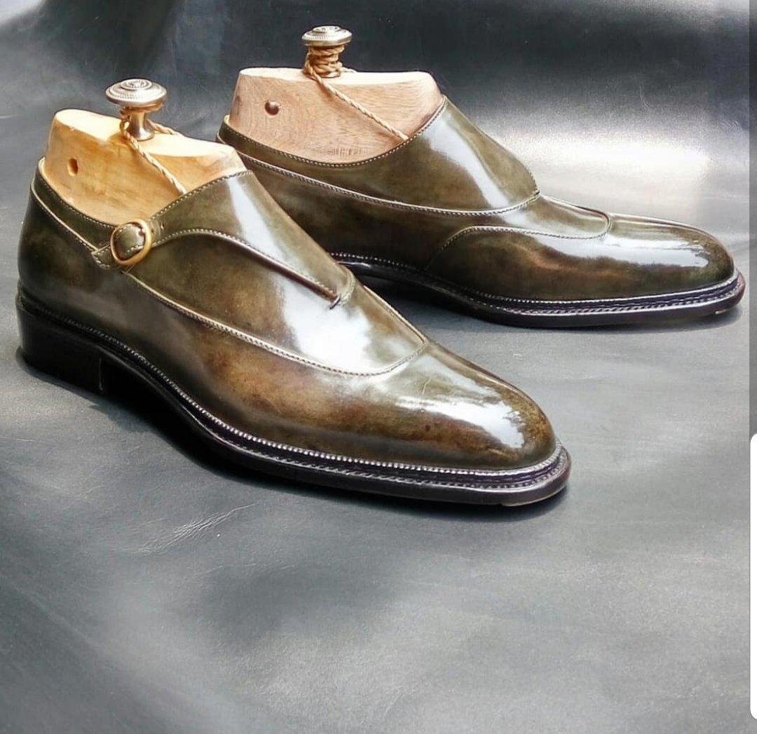 Unique Monkstrap Design by Winson Shoemaker