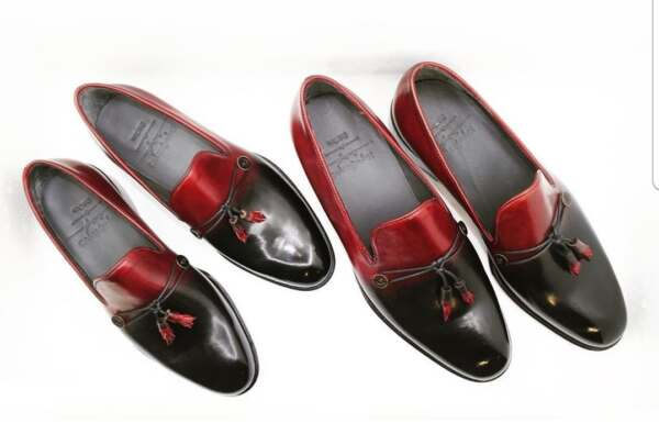 His & Hers Patina Loafers by Vietnamese Shoemaker Thanh Le