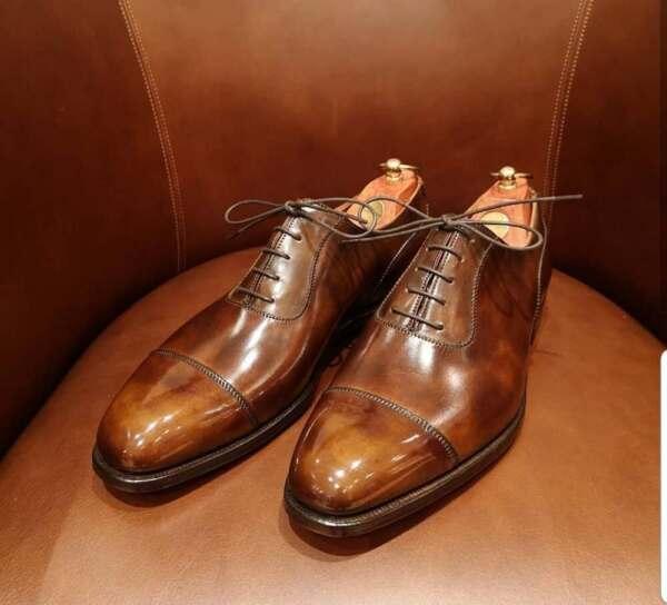 Sartor Polishing - Your London Spruce Up on Crockett & Jones Shoes